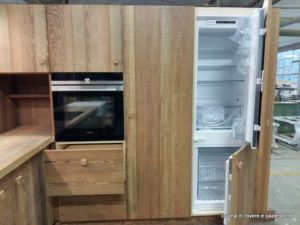 CUCINA IN PITCHPINE MASSELLO